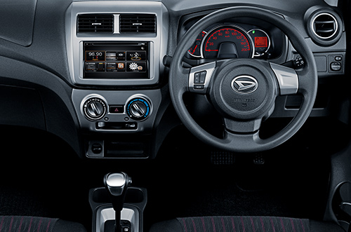 Daihatsu Ciledug dasboard New Astra Daihatsu AYLA facelift 2017