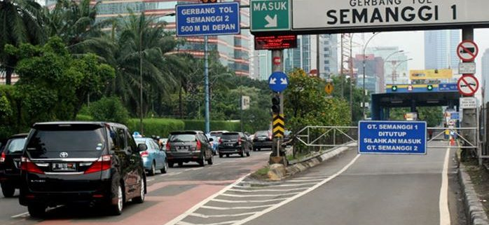 Daftar Gerbang Tol yang ditutup Selama Asian Games