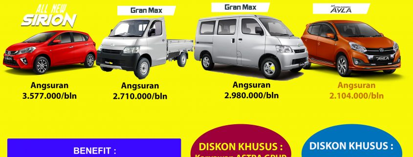 Paket Kredit Murah Daihatsu