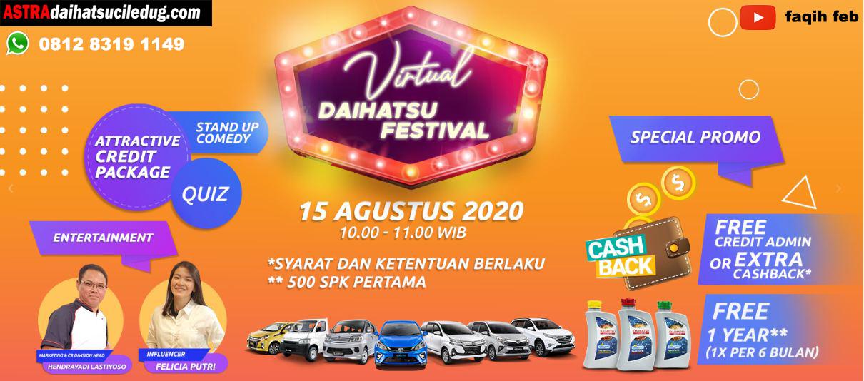 Daihatsu Ciledug d-vir-ok Promo Daihatsu Virtual Festival