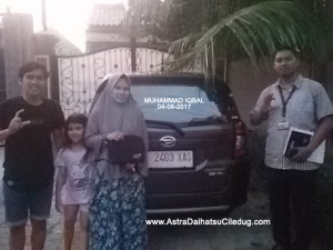 Daihatsu Ciledug m_iqbal Penyerahan mobil