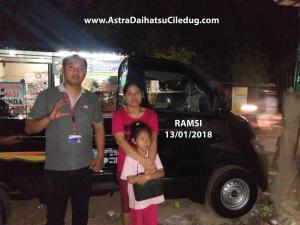 Daihatsu Ciledug ramsi Penyerahan mobil