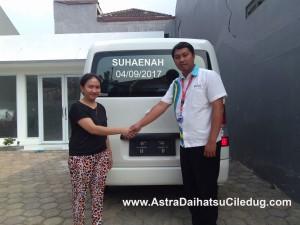 Daihatsu Ciledug suhaenah Penyerahan mobil
